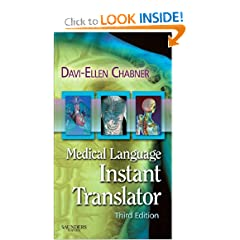 Medical Language Instant Translator (Chabner, Medical Language Instant Translator)