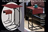 Flip Top Side Sofa Table