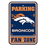 NFL Denver Broncos Plastic Parking Sign at Amazon.com