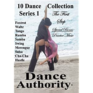 Ballroom 10 Dance DVD Collection Series 1