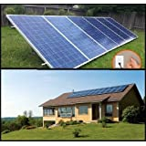 1.5KW PluggedSolar with 1500Watt Crystalline Solar Panels and Micro Grid Tie Inverter, Plug into Wall, 120V or 240V AC Outlet, Utility Approved Micro Grid Tie Inverter (UL-1741). Breakthough in Solar. 30 Percent Federal Tax Credit (Tamaño: 120V AV Output AC Output)