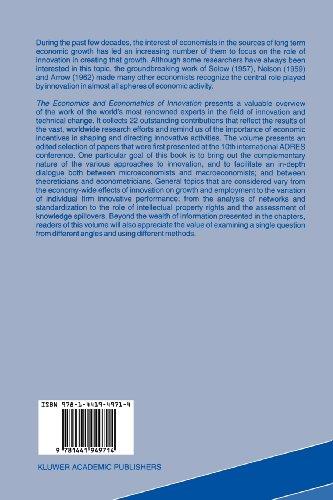 The Economics and Econometrics of Innovation