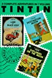 Herge The Adventures of Tintin Volume 5: Land of Black Gold / Destination Moon / Explorers on the Moon