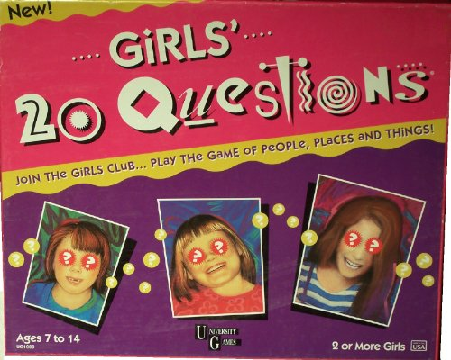 Girls' 20 Questions Game (1996) - 1