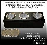 Metallständer Schwarz