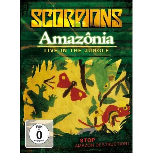 Amazonia: Live in the Jungle [DVD] [Import]