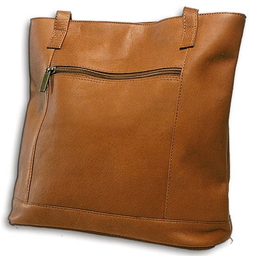 david-king-co-shopper-with-front-zip-pocket-1065-tan-one-size