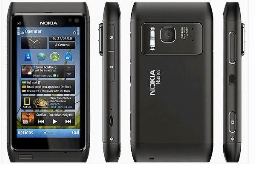 Nokia N8 Unlocked GSM Touchscreen Phone Featuring GPS with Voice Navigation and 12 Mp Camera--u.s. Version