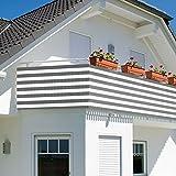 Balkonbespannung - Windschutz - Balkonverkleidung -...