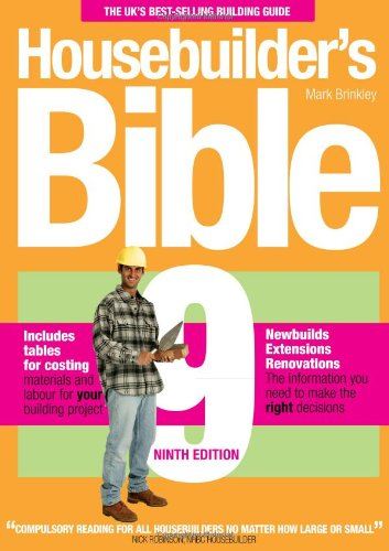 Housebuilder's Bible (ninth edition) (9th Edition)