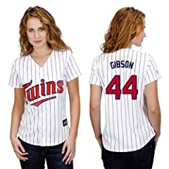 Kyle Gibson Minnesota Twins Home Ladies Replica Jersey by Majestic by Majestic