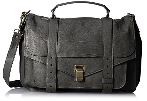 Proenza-Schouler-Womens-Borsa-Ps1-Large-Black