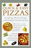 Valerie Ferguson Quick and Easy Pizzas (Cook's Essentials)