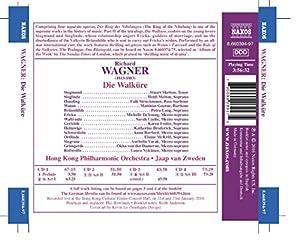 Wagner: Die Walkure [Matthias Goerne; Michelle DeYoung; Stuart Skelton; Heidi Melton; Petra Lang; Hong Kong Philharmonic Orchestra, Jaap van Zweden] [NAXOS:8660394-97] by Naxos