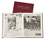 PERSONALISED D-DAY LANDINGS NEWSPAPER BOOK (Grey Standard)