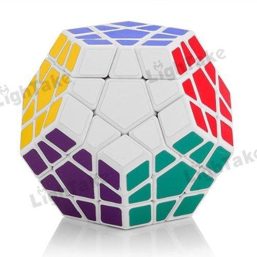 Shengshou Megaminx White Speed Cube Puzzle - 1