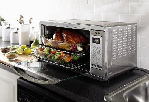 Oster Tssttvxldg Extra Large Digital Toaster Oven Stainless Steel New Ebay