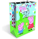 Peppa Pig 32x27x10cm Large Gift Bag