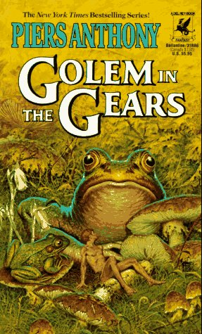 Image for Golem in the Gears (The Magic of Xanth, Book 9)