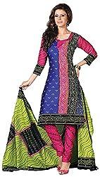 Mansi Fashion Women's Cotton Dress Material (MF-MP-2011 , MultiColor)