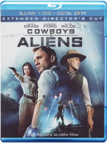 Cowboys & aliens (extended director's cut) (+DVD) [Blu-ray] [IT Import]