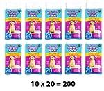 Pack of 200 Super Absorbent Premium P...