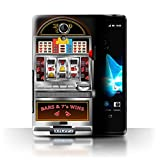 STUFF4 Phone Case Cover for Sony Xperia TLT30 Machine Design Slot Machine Collection