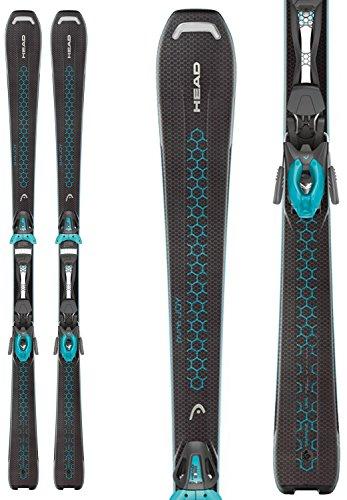 Head Pure Joy Skis w/ Joy 9 SLR Bindings Womens Sz 148cm (Head Pure Joy compare prices)