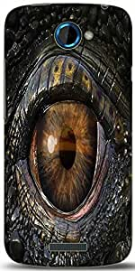 Snoogg Dragons Eye 2774 Designer Protective Back Case Cover For HTC One S