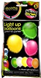 Illooms LED Light Up Balloons 5 count Pack