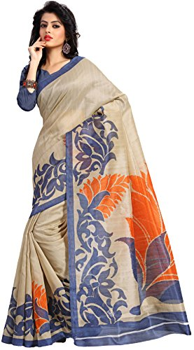 Samskruti Sarees Women Art Silk Printed Saree (SPAS-62