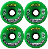 BIGFOOT Longboard Wheels 76mm CRUISERS Green + Abec 9