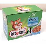 Kitekat Pouch Fish 12 Pack 100g