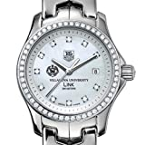TAG HEUER watch:Villanova University TAG Heuer Watch - Women's Link with Diamond Bezel at M.LaHart