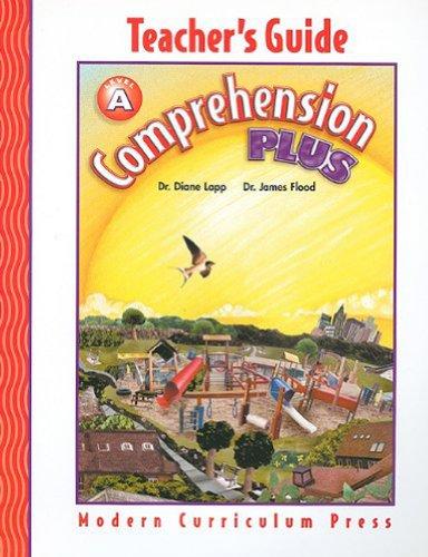 COMPREHENSION PLUS, LEVEL A, TEACHER'S EDITION, 2002 COPYRIGHT