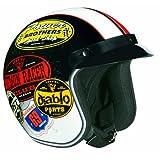 Vega Mens X-380 X380 Old Skool Color Open Face Helmet 2014