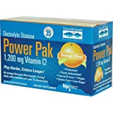 Electrolyte Stamina Power Pak Orange Blast Trace Minerals 32 Packet