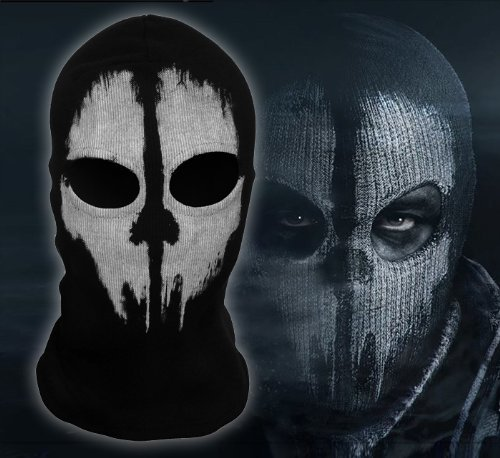 Pixnor® Call of Duty Ghost Skull Balaclavas Skiing Airsoft Paintball Game Cosplay Mask Hood (B04)