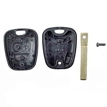 coque cle plip plip pour telecommande voiture peugeot 207 307 307 407 107 307 sw 308 2. Black Bedroom Furniture Sets. Home Design Ideas