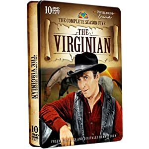 The Virginian: Fifth Season Complete movie