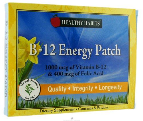 Healthy Habits - B-12 Energy Patch - 8 Patch(Es)