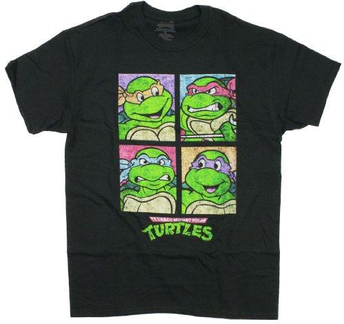 Ninja Turtles Squares TMNT T-Shirt