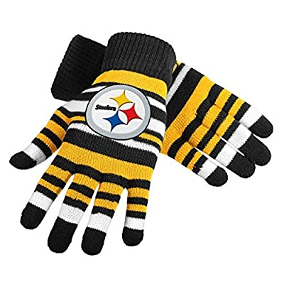 Pittsburgh Steelers Stretch Gloves