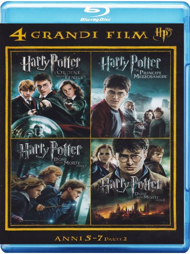4 grandi film - Harry Potter Volume 02 [Blu-ray] [IT Import]