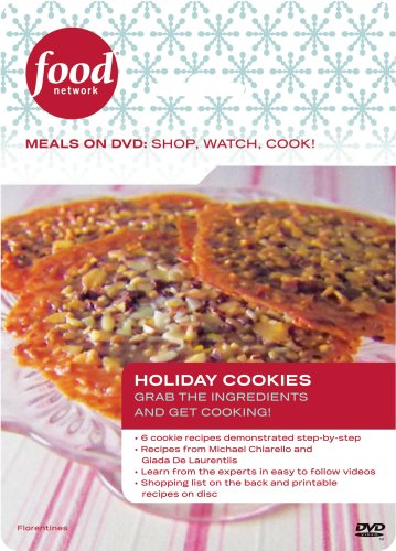 Food Network Meals on DVD: Shop, Watch, Cook! Holiday Cookies