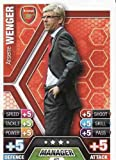 Match Attax 2013/2014 Arsene Wenger Arsenal 13/14 Manager