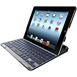 ZAGG PROfolio+ Ultrathin Case with Backlit Bluetooth Keyboard for iPad 2/3/4-Black