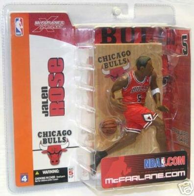 McFarlane Toys NBA Sports Picks Series 4 Action Figure Jalen Rose (Chicago Bu... - 1