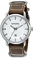 Sperry Top-Sider Men's 10008959 Striper Analog Display Japanese Quartz Brown Watch from Sperry Top-Sider Watches MFG Code