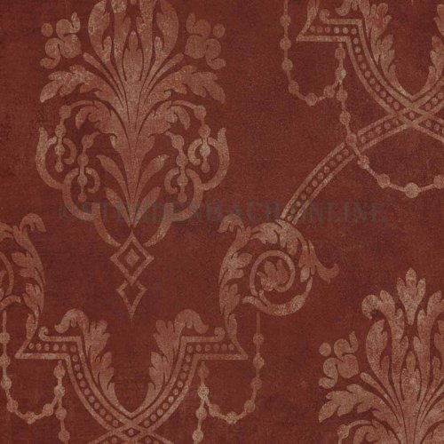 Tapete barock tapeten barock weinrot gold barock aus canada for Tapete weinrot
